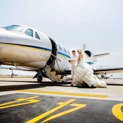 Top wedding on the sky, best destination weddings