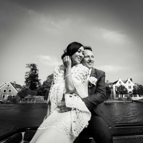 Lovely photo wedding in Amsterdam