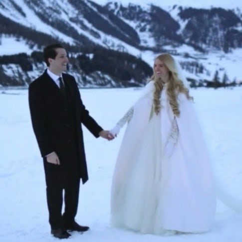 video wedding Sankt Moritz Switzerland
