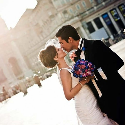beautiful wedding in Rome Italy, destination wedding photographer Flavio Bandiera