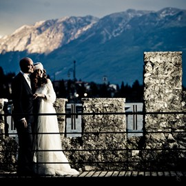 Wedding on Lake Garda, Italy, destination photography