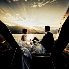 Beautiful Wedding on Lake Maggiore, Italy