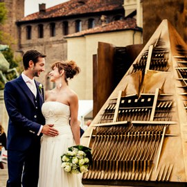 Wedding in Turin, Italy