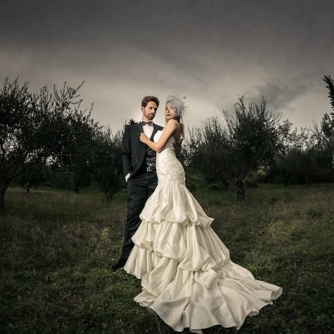 Shooting AE Academy San Marino, fine art wedding photography