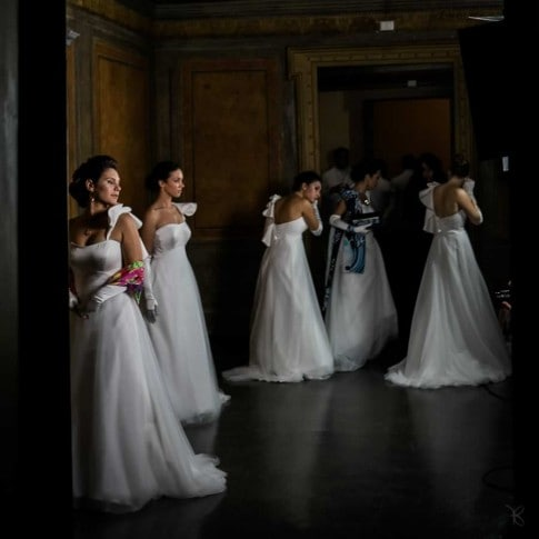 Reportage of the Viennese Ball, Rome