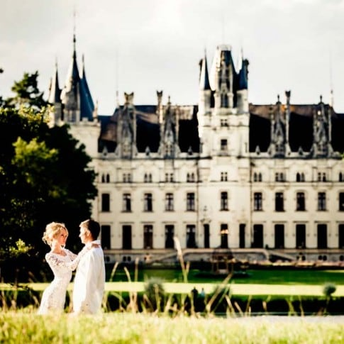 film wedding Chateau Challain, France, video weddings